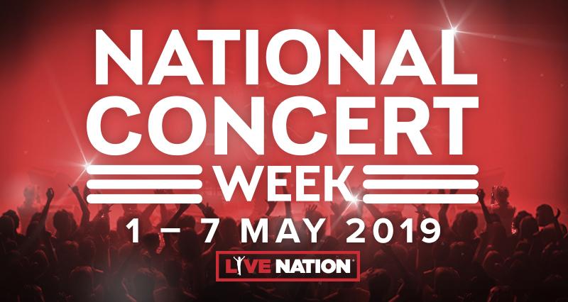 National Concert Week 1 - 7 May 2019